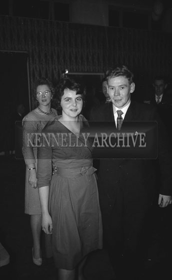 24th January 1962; People enjoying the night at the Kerry Nurses Social which was held at the Hotel Manhattan.