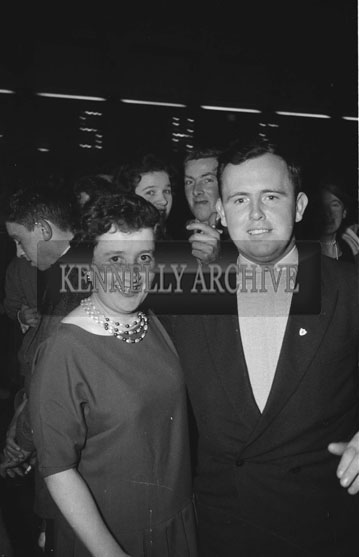 26th January 1962; People enjoying the night at a dance which was held at the Ashe Memorial Hall in Tralee.