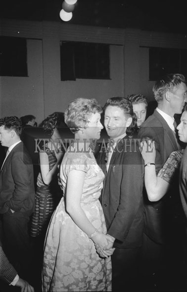 18th October 1962; People enjoying the night at a dance which took place in Killarney.