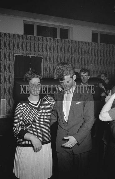19th October 1962; People enjoying the night at a dance which took place at the Hotel Manhattan in Tralee.