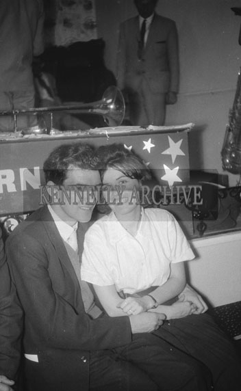 21st October 1962; People enjoying the night at a dance which took place in Firies.
