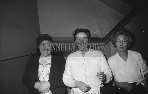23rd October 1962; People enjoying the night at a dance which took place at the Ashe Memorial Hall in Tralee.