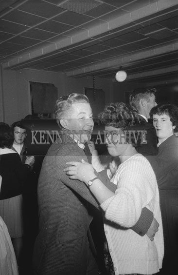 28th October 1962; People enjoying the night at a dance which took place in Firies.