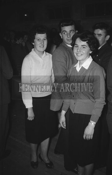 21st January 1962; People enjoying the night at a dance in Scartaglin.
