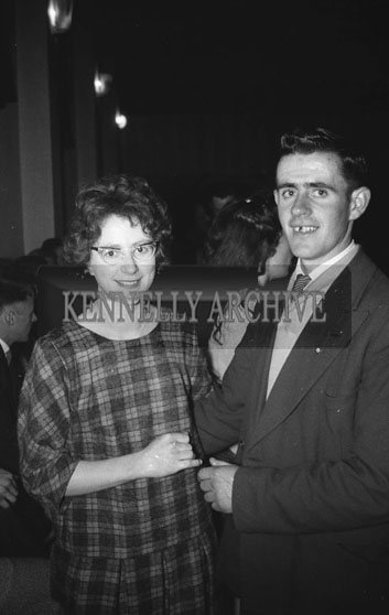 21st January 1962; People enjoying the night at a dance in Brosna.
