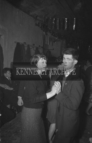 29th January 1962; People enjoying the night at the West Kerry Farmers Dance which was held in Castlegregory.