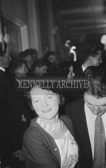 4th November 1962; People enjoying the night at a dance which took place in Firies.