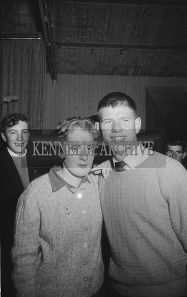 4th November 1962; People enjoying the night at a dance which took place in Lixnaw.