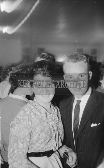 7th November 1962; People enjoying the night at a dance which took place in Caherciveen.