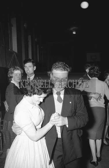 4th February 1962; People enjoying themselves at a dance which took place in Killorglin.