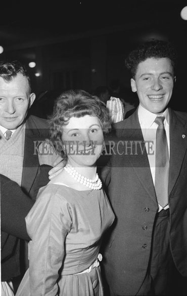 14th February 1962; People enjoying themselves at a Valentines Dance which took place in Rathmore.