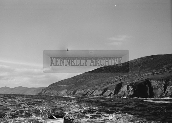 6th November 1962; A view of the Blasket Islands.