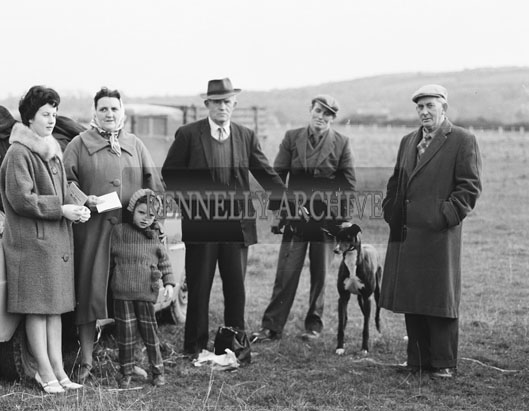 13th November 1962; A photo taken at a coursing event which took place in Listowel.