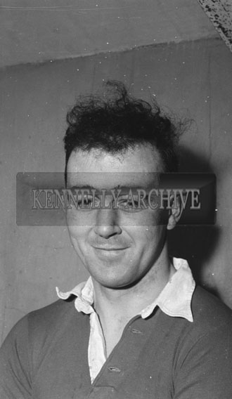 17th February 1962; Leo Dooly of Tipperary poses for the camera after the Munster Trials where the Kerry team took on the Rest of Munster in a match at Austin Stacks Park. The Kingdom were defeated by the Rest of Munster 2-5 to 1-6.