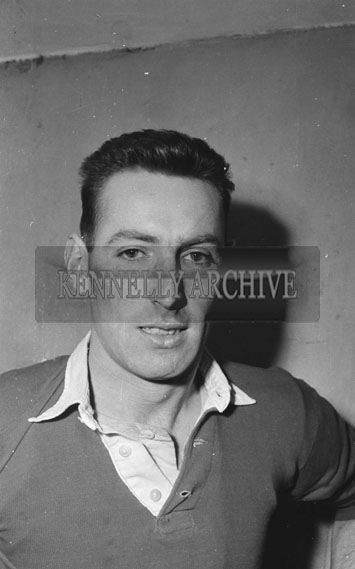 17th February 1962; John Keating of Tipperary poses for the camera after the Munster Trials where the Kerry team took on the Rest of Munster in a match at Austin Stacks Park. The Kingdom were defeated by the Rest of Munster 2-5 to 1-6.