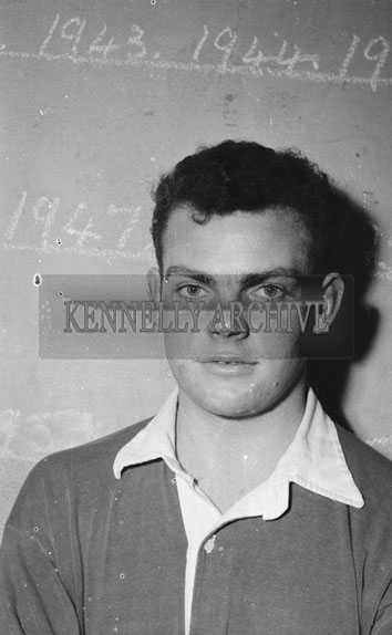 17th February 1962; Alan Conway of Kerry poses for the camera after the Munster Trials where the Kerry team took on the Rest of Munster in a match at Austin Stacks Park. The Kingdom were defeated by the Rest of Munster 2-5 to 1-6.