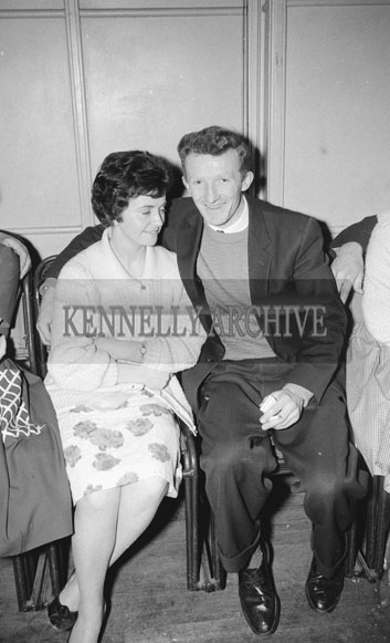 18th February 1962; People enjoying themselves at a Dance which took place at the CYMS in Tralee.