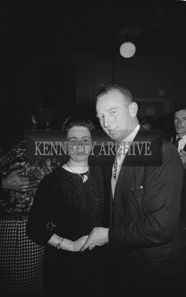 11th November 1962; People enjoying the night at a dance which took place in Firies.