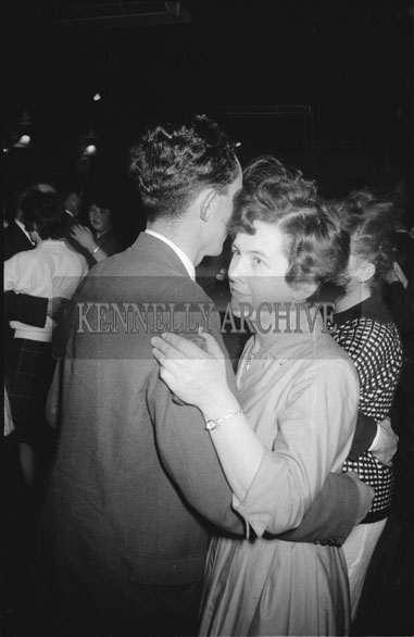 11th November 1962; People enjoying the night at a dance which took place in Ballymac. Music at the dance was provided by Jimmy McCarthy and his orchestra.