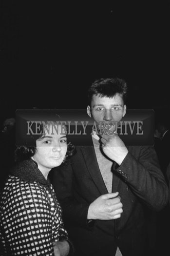 13th November 1962; People enjoying the night at a dance which took place at the Ashe Memorial Hall In Tralee.