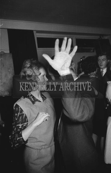 14th November 1962; People enjoying the night at a dance which took place at The Meadowlands Hotel.