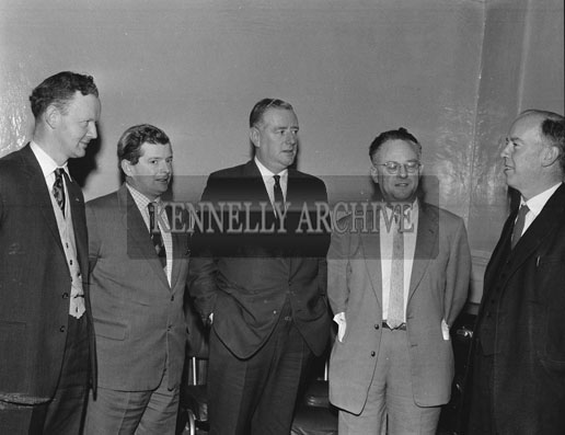 March 1962; A meeting of Listowel Business Traders which took place at the Grand Hotel in Tralee.