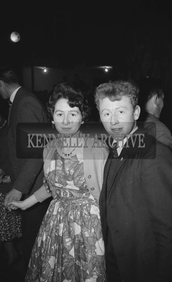 4th March 1962; People enjoying the night at a dance which took place at the CYMS in Killorglin.