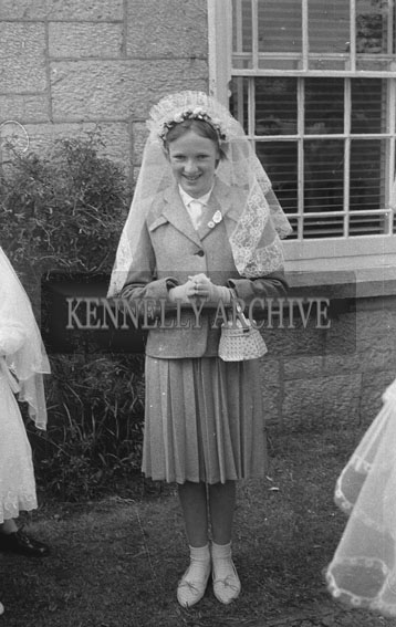 15th May 1962; A photo taken on Confirmation Day in Castleisland.