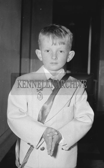 18th May 1962; A photo taken on Communion Day in Dingle.