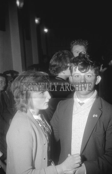 21st November 1962; People enjoying the night at a dance which took place in Brosna.