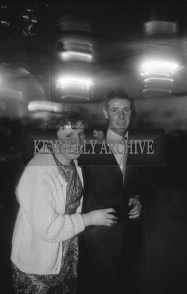 22nd November 1962; People enjoying the night at a dance which took place in Newmarket.