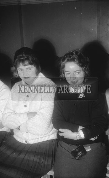 22nd November 1962; People enjoying the night at a dance which took place in Rathmore.