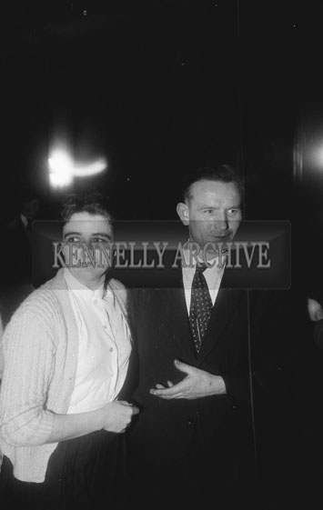 22nd November 1962; People enjoying the night at a dance which took place in Kanturk.