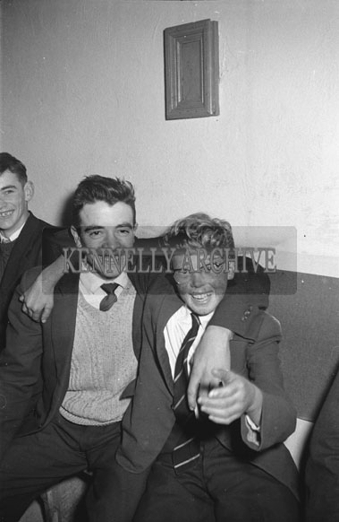 25th November 1962; People enjoying the night at a dance which took place at Headleys Bridge. Music at the dance was provided by The Rhythm Aces.