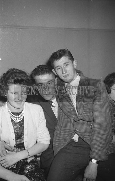 28th November 1962; People enjoying the night at a dance which took place at the Astor Ballroom in Castleisland.