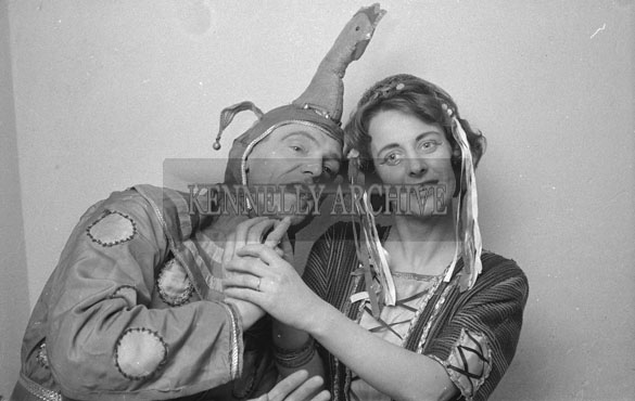February 1962; Members of the Limerick Opera Society who staged a performace of 'The Yeoman of the Guard' at the CYMS in Tralee.