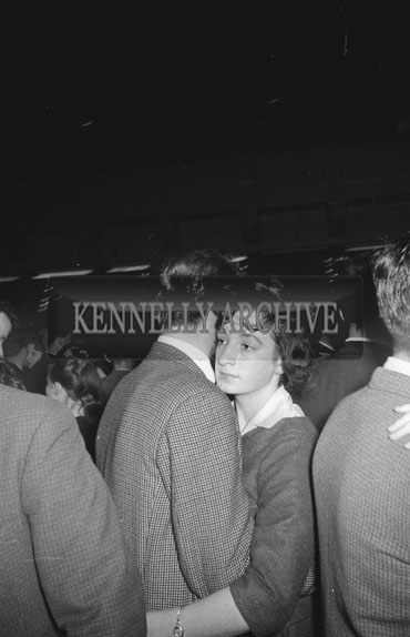 23rd November 1962; People enjoying the night at a dance which took place at the Ashe Memorial Hall. Music at the dance was provided by The Blue Aces.