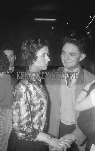 25th November 1962; People enjoying the night at a dance which took place in Ballymac.