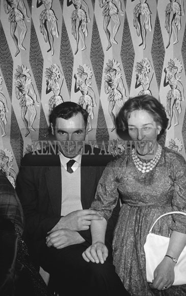 28th November 1962; People enjoying the night at the National Farmers Association Social which took place at the Hotel Manhattan.