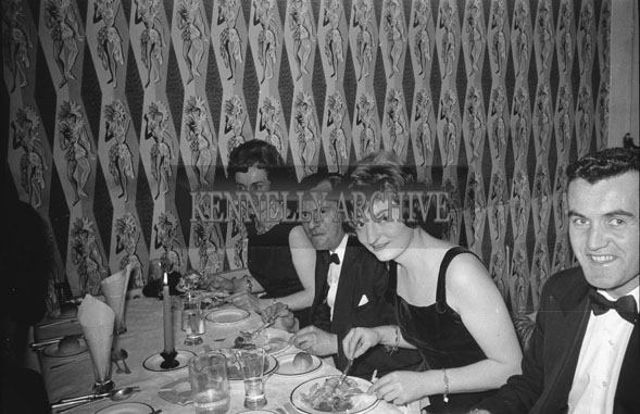 29th November 1962; People enjoying the night at the Banker's Dance which took place at the Manhattan Hotel.