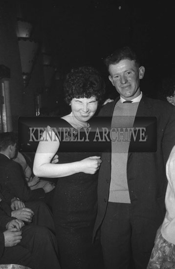 27th February 1962; People enjoying the night at a a dance which took place in Castleisland.