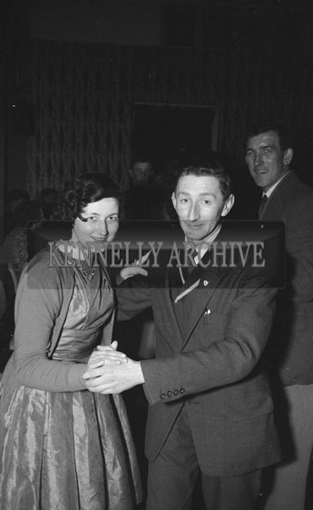 2nd March 1962; People enjoying the night at a dance at the Hotel Manhattan with music by the Brosna Ceili Band.