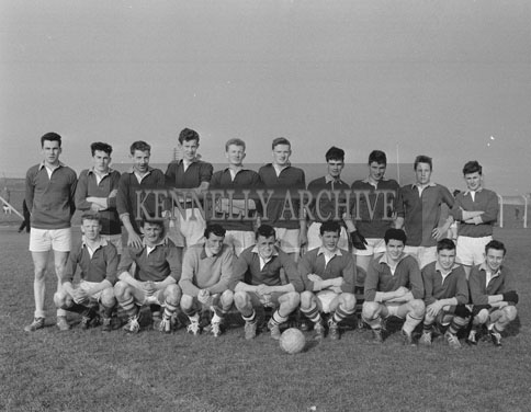 18th March 1962; Members of the Tralee CBS Football Team who were defeated by St Brendan's of Killarney in the final of the O'Sullivan Cup.