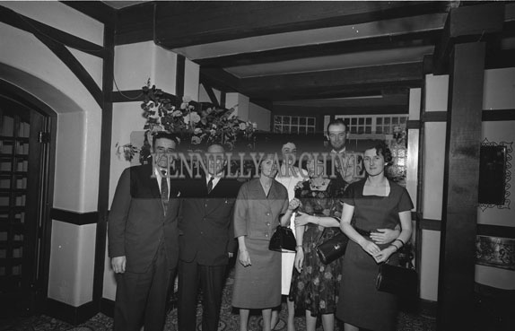 December 1962; People enjoying the night at a social which took place in Benners Hotel.