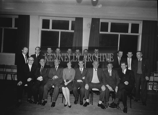 December 1962; A photo of a committee taken at the Meadowlands Hotel.
