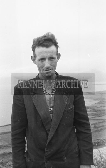 May 1962; A photo of a man taken in Brandon.