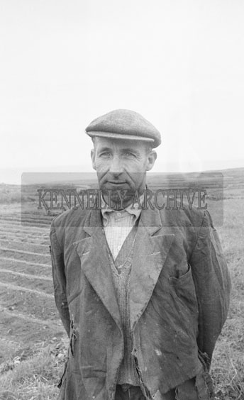 13th May 1962; A photo of a man taken in Brandon.