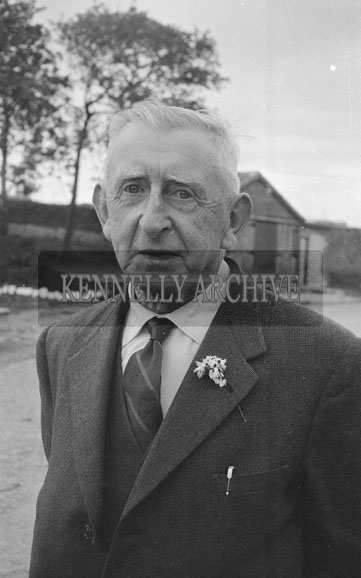 June 1962; John Quilter who is one of the organisers of the Kingdom County Fair poses for the camera in Tralee.