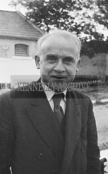 June 1962; Gerry McMahon who is one of the organisers of the Kingdom County Fair poses for the camera in Tralee.