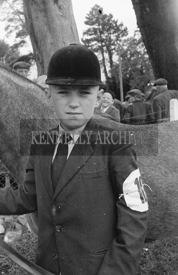 21st June 1962; A photo taken during some of the showjumping events which took place at the Kingdom County Fair at the Ballymullen Barracks in Tralee.